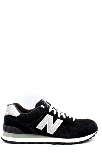 New balance Sneakers F.gomma 39-46 574 Uomo Nero Sportivo