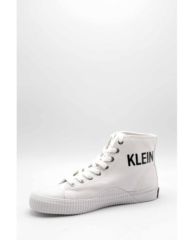 Calvin klein Sneakers F.gomma Iole canvas Donna Bianco Fashion