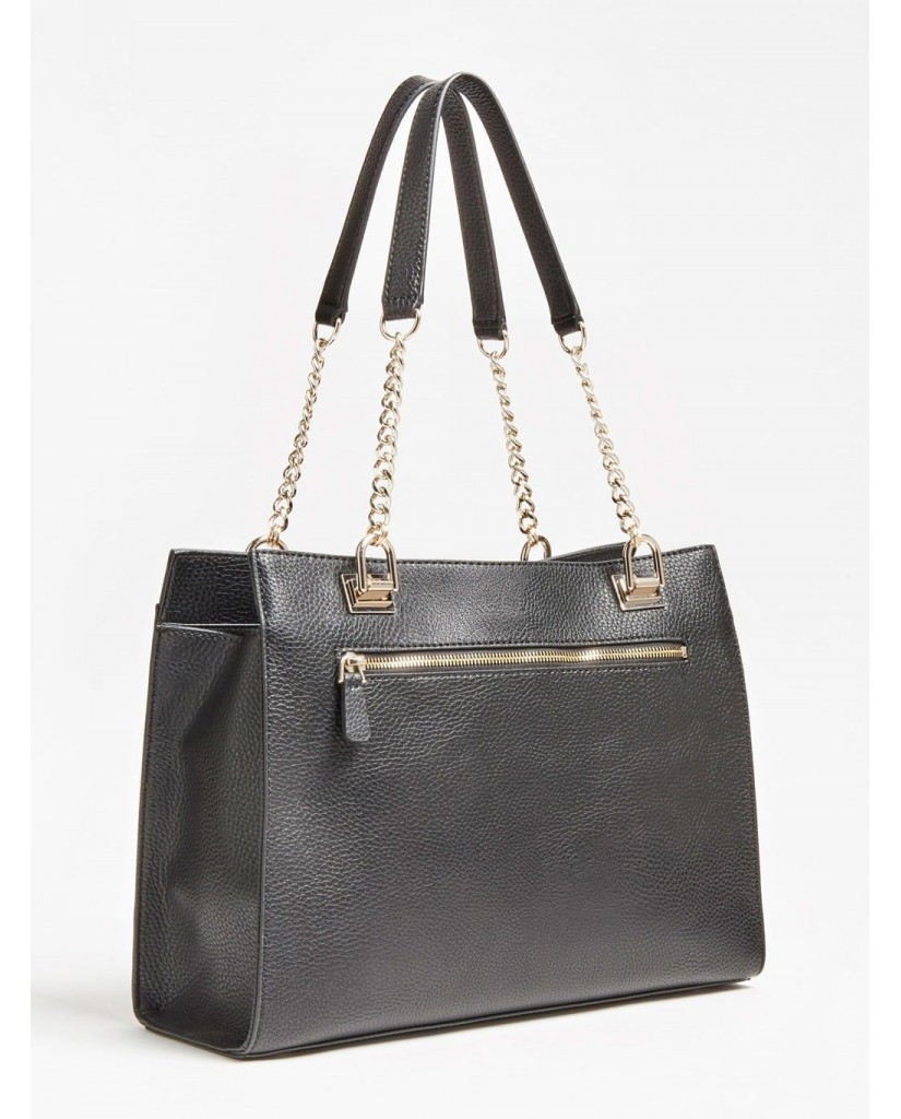 Guess Borse   Belle isle society carryall Donna Nero Fashion
