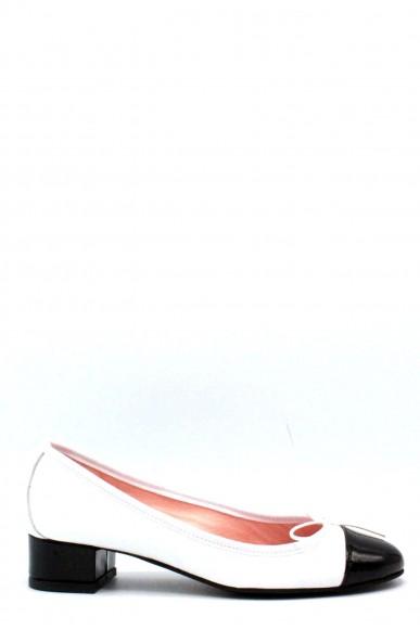 Rosa di saron Ballerine F.gomma 36/41 made in italy Donna Bianco-nero Fashion