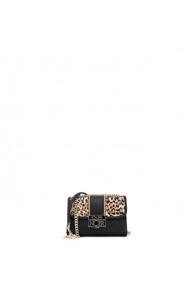 Cafe' noir Borse   Pochette leopardo con fascia centra Donna Maculato Fashion