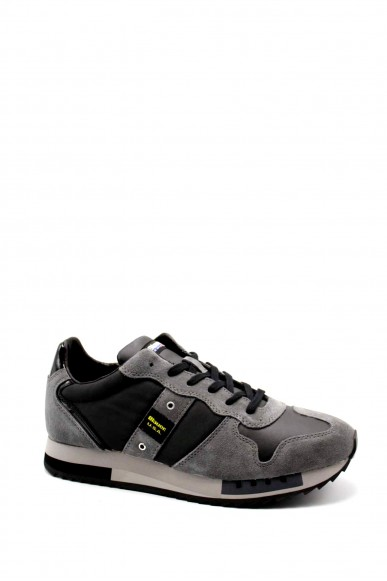 Blauer Sneakers   Queens01 Uomo Nero Fashion