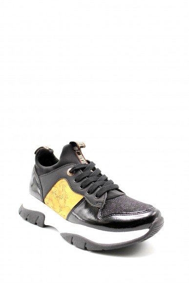 1^classe  Sneakers F.gomma In07041056 Donna Nero Fashion
