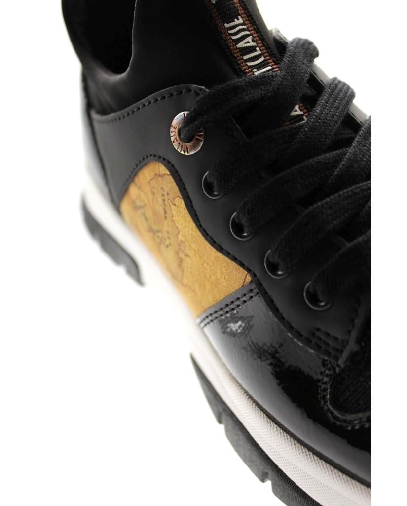 1^classe  Sneakers F.gomma In07041056 Donna Nero Fashion