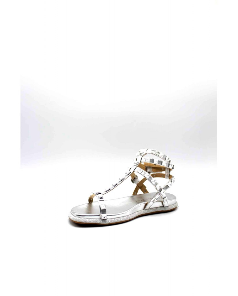 Alma en pena Sandali F.gomma Donna Argento Fashion