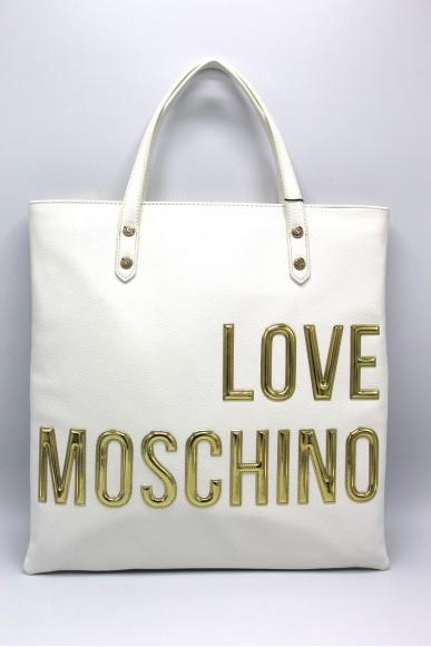 Moschino Borse Donna Bianco Fashion