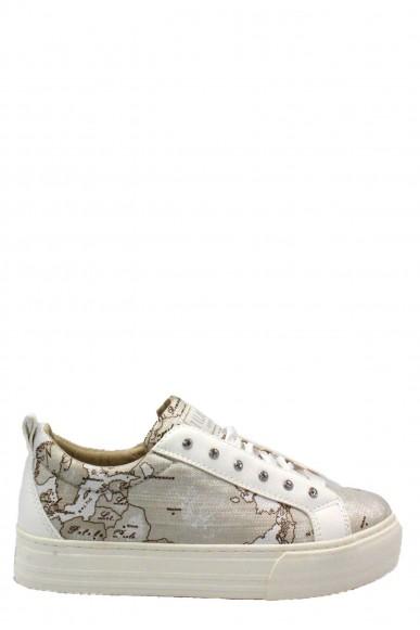 1^classe  Sneakers F.gomma 35/40 Donna Bianco Fashion