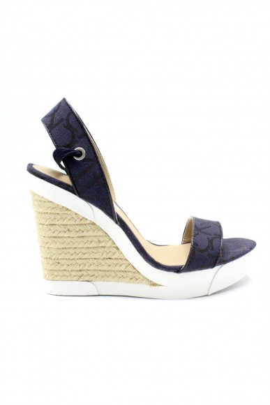 3541 Fashion Calvin Eleanor Klein Donna Blu Sandali F gomma DeW9E2IYH