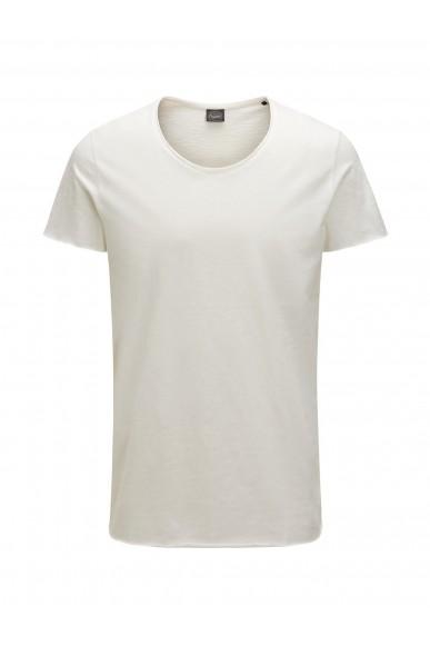 Jackejones T-shirt Uomo Bianco Casual