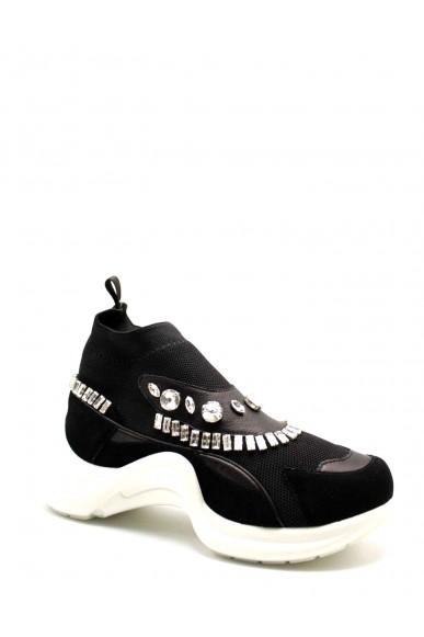 La femme plus Sneakers F.gomma 6303 Donna Nero Casual