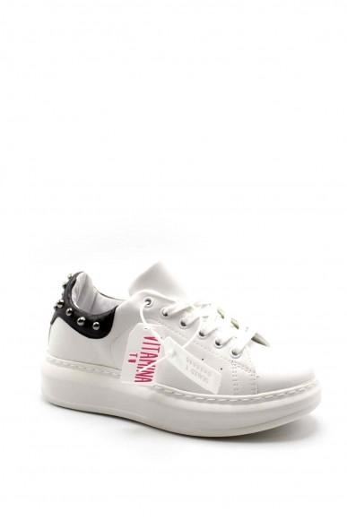 Vitamina Sneakers F.gomma Donna Bianco Fashion