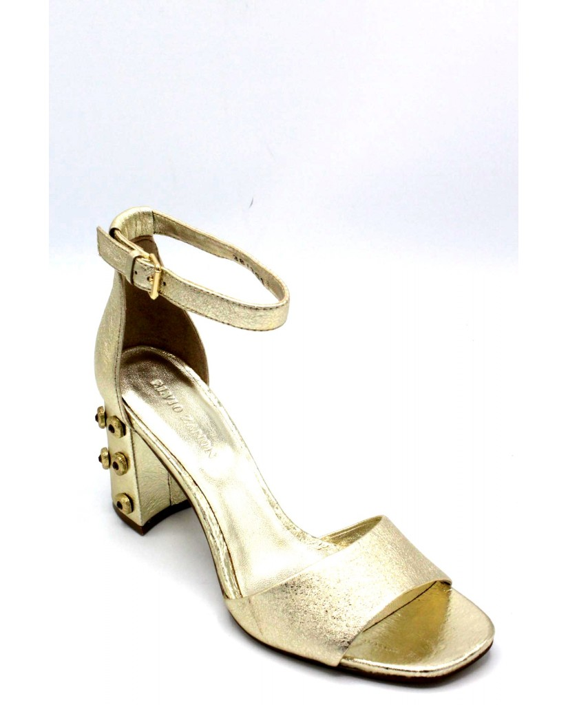 Elvio zanon Sandali F.gomma 36/41 h5402p made in italy ss18 Donna Platino Fashion
