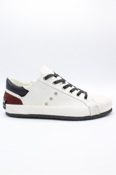 Crime Sneakers F.gomma 40/44 riki Uomo Bianco Fashion