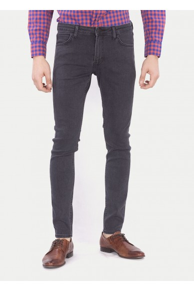 Lee Jeans Uomo Nero Casual
