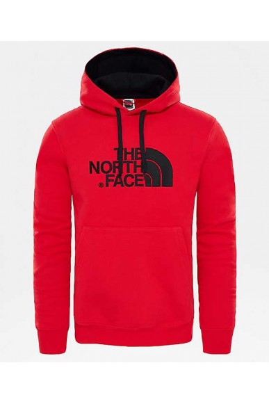 The north face Felpe   M drew peak pul hood Uomo Rosso Casual
