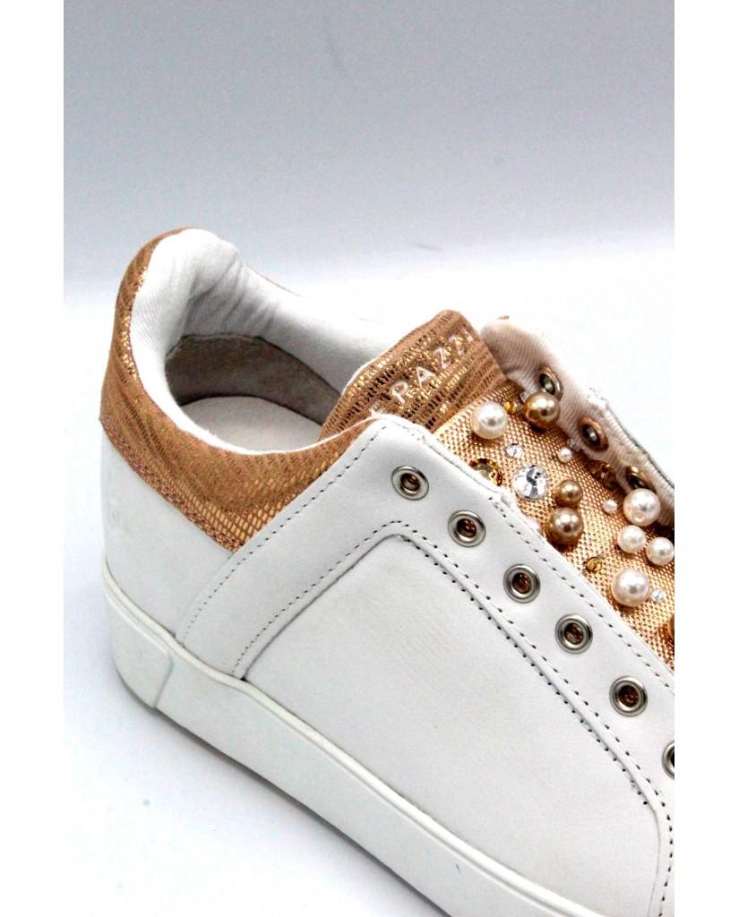 Apepazza Sneakers F.gomma 35/41 Donna Bianco-cipria Fashion