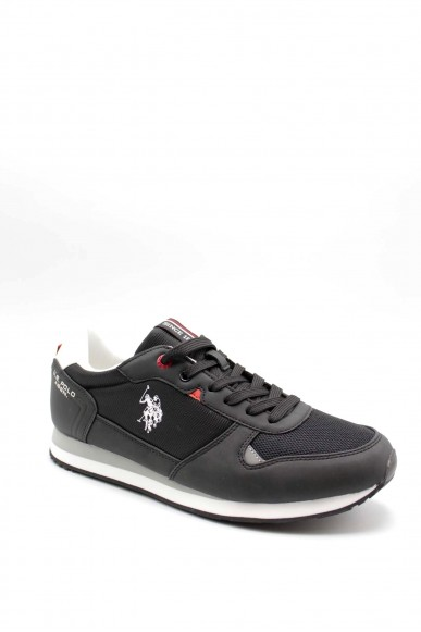 Us polo Sneakers F.gomma Uomo Nero Fashion