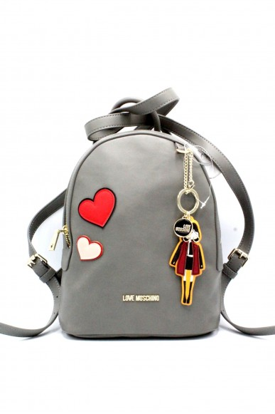 Moschino Backpacks - Donna Grigio Fashion