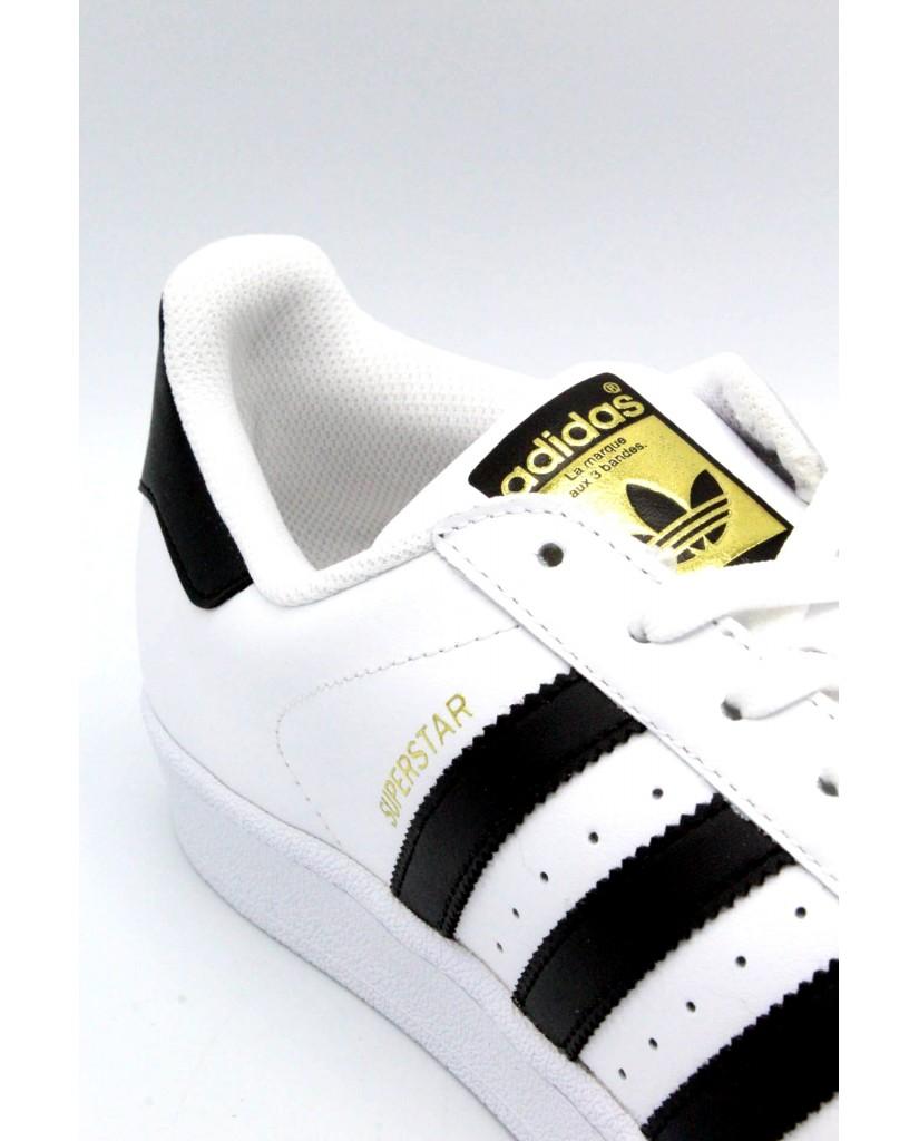 Adidas Sneakers F.gomma 39/46 superstar Uomo Bianco-nero Sportivo