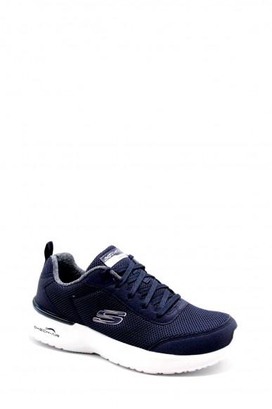 Skechers Sneakers F.gomma 36-41 12947 Donna Blu Casual