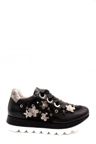 Cafe' noir Sneakers F.gomma 35/41 db132 Donna Nero Fashion