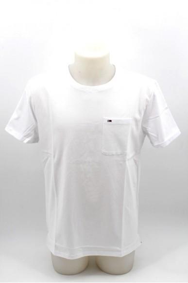 Tommy hilfiger T-shirt Uomo Bianco Casual