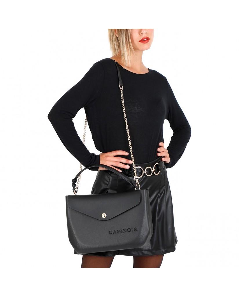 Cafe' noir Borse   Bauletto eva Donna Nero Fashion