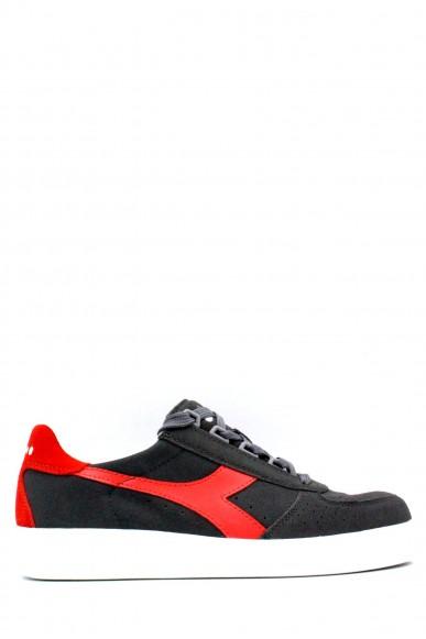 Diadora Sneakers F.gomma 39-45 b. elite suede Uomo Grigio Sportivo