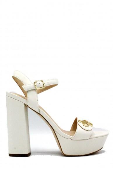 release date 4a615 ebdfe Guess Sandali Fion/sandalo (sandal)/leather Donna Avorio ...