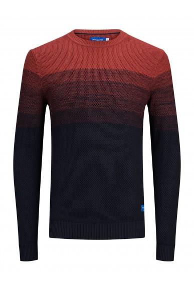 Jackejones Maglioni   Jorbase knit crew neck. Uomo Rosso Fashion