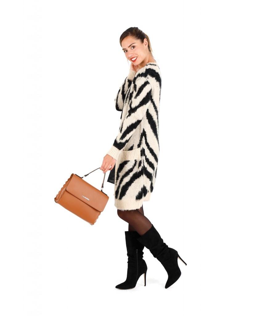 Cafe' noir Borse   Cartella smerlata Donna Cuoio Fashion