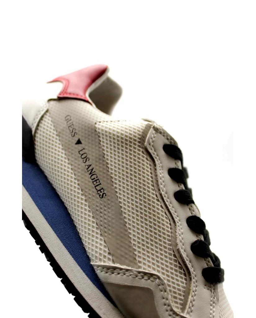 Guess Sneakers F.gomma Genova Uomo Bianco-grigio Fashion