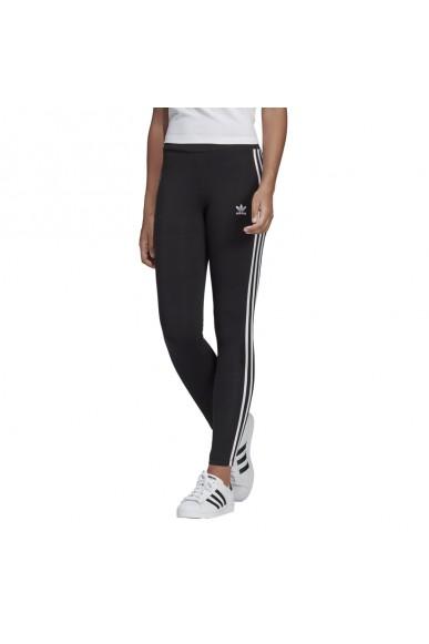 Adidas Pantaloni   3 str tight Donna Nero Streetwear