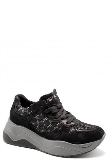 Igieco Sneakers F.gomma Dev 61683 Donna Nero Casual