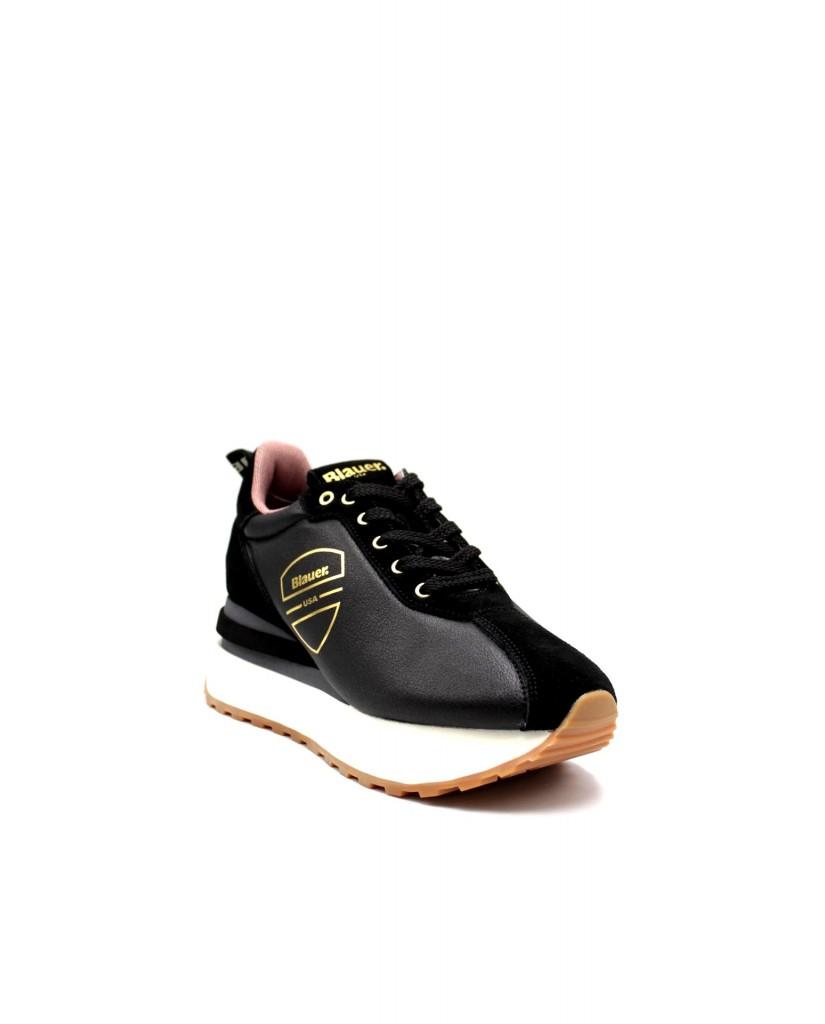 Blauer Sneakers F.gomma Mabel01 Donna Nero Fashion