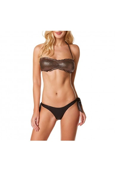 4giveness Costumi Fgw00269 Donna Bronzo Casual