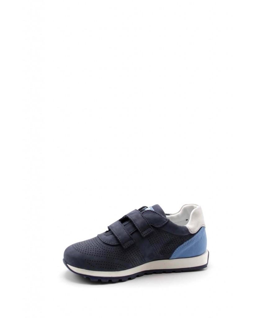 Balducci Sneakers F.gomma 27/34 bfeel1602 Bambino Blu-bianco Fashion