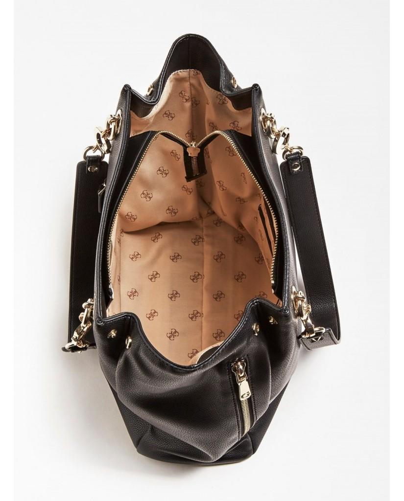 Guess Borse   G chain tote Donna Nero Fashion