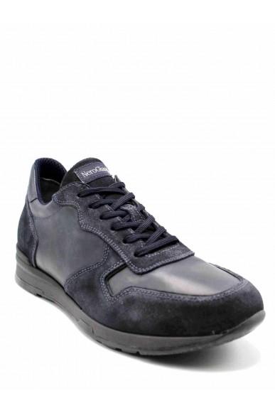 Nero giardini Sneakers F.gomma Camo.colorado 2222 g kenia antracit Uomo Blu Casual