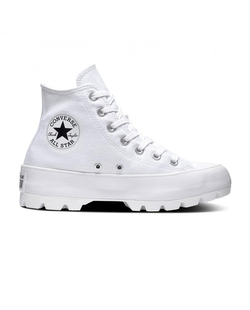 Converse Sneakers F.gomma Ctas lugged hi Donna Bianco Fashion