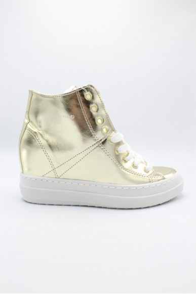 Happiness Sneakers F.gomma 36/41 Donna Platino Fashion