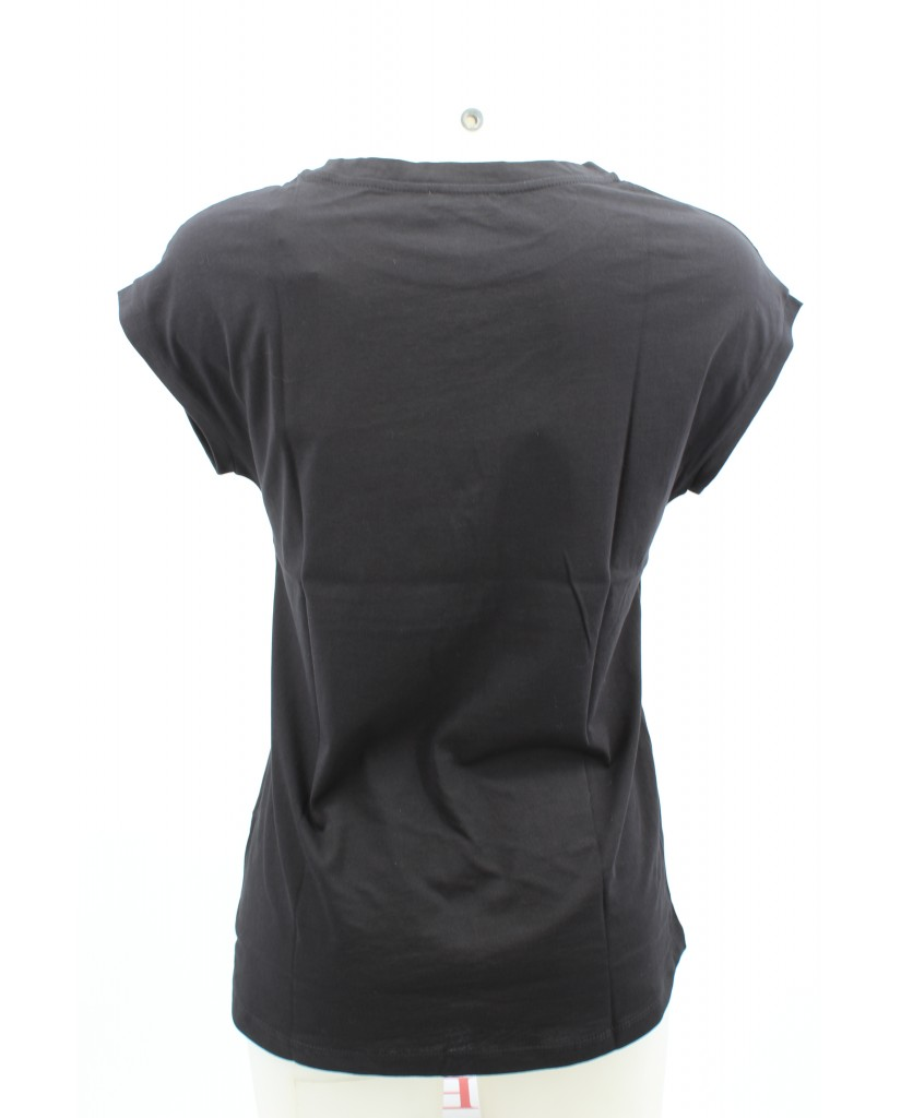 Calvin klein T-shirt Donna Nero Casual