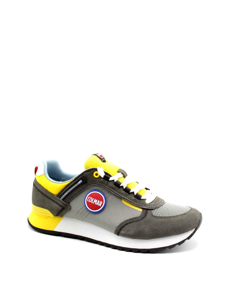 Colmar Sneakers F.gomma Travis sport Uomo Grigio Fashion