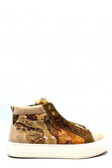 1^classe  Sneakers F.gomma 35/40 0085/0040 Donna Sabbia Fashion