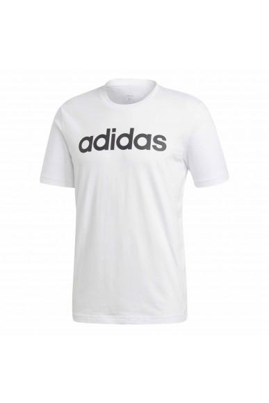 Adidas T-shirt   E lin tee           white/black Uomo Bianco Sportivo