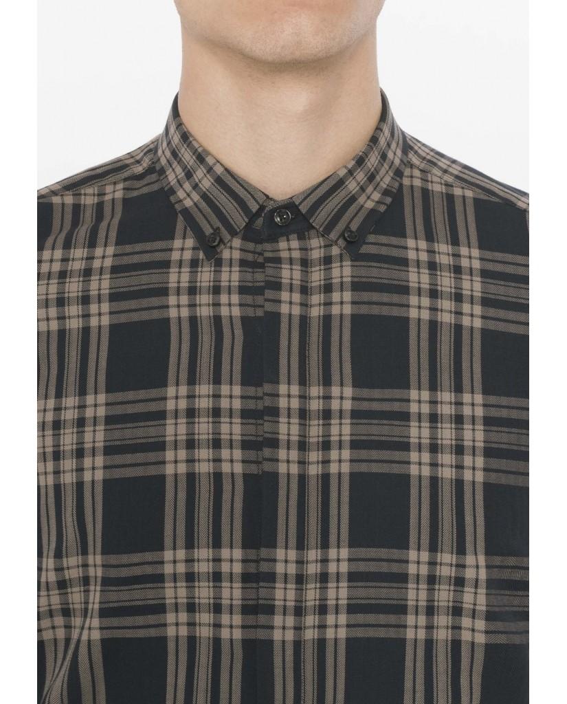 Antony morato Camicie   Camicia manica lunga  fantasia Uomo Legno