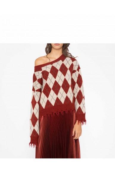 Silvian each Maglioni   Sweater wagga Donna Marrone