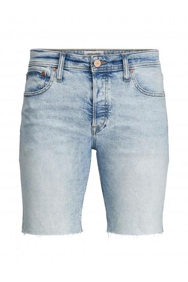 Jackejones Bermuda   Jjirick jjoriginal shorts cut off a Uomo Blu Casual