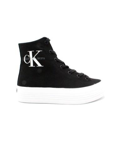 Calvin klein Sneakers F.gomma 35/41 zabrina Donna Nero Fashion