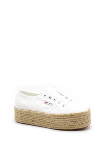 Superga Sneakers F.gomma S0099z0 Donna Bianco Sportivo